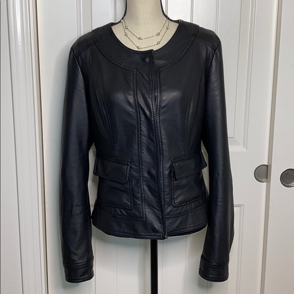 Kut from the Kloth Jackets & Blazers - Kut from the Kloth vegan Leather Jacket Large